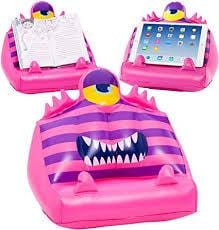 The BOOKMONSTER air- book and tablet holder pink