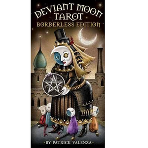 Deviant moon tarot cards borderless edition