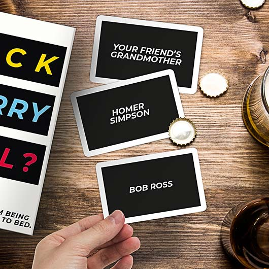 F**k,Marry,Kill card game by Gift Republic
