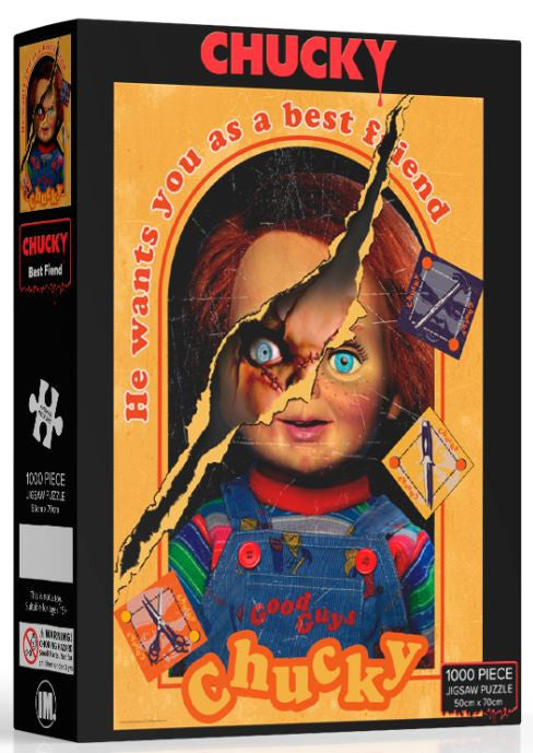 Chucky the best friend jigsaw puzzle (1000pieces) by IMPACT