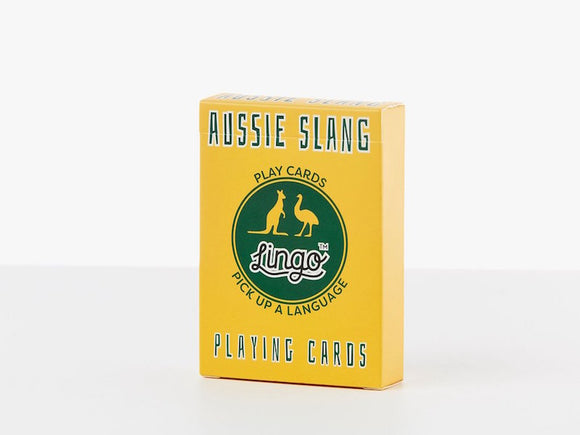 LINGO AUSSIE slang playing cards