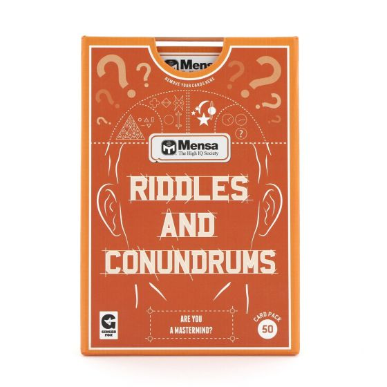 Riddles and Conundrums card game by Ginger Fox