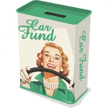 Money tin - Car fund