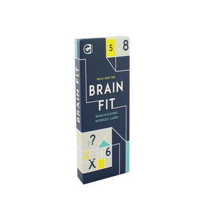 BRAIN FIT-relax make time card game