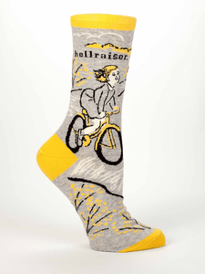 BlueQ-HELLRAISER women's crew socks - Gizmo Gifts