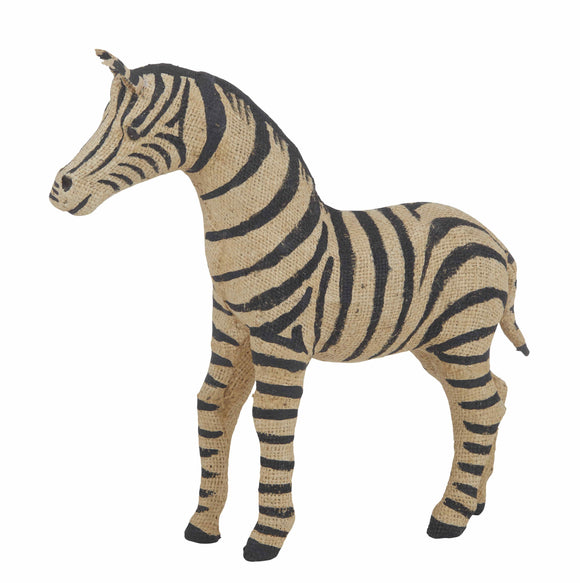 Zaidi zebra sculpture - small (h19cm)