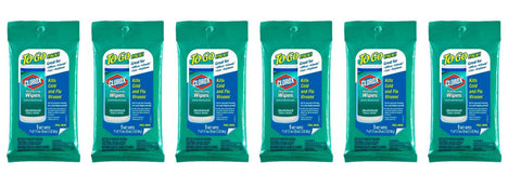 Clorox Disinfecting Wipes, Fresh Scent, To Go Pack 9 ct. (6 Pack)