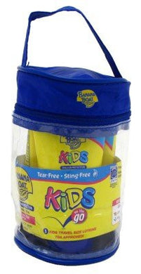 Banana Boat Kids Spf#50 On The Go (3 Individual) 2oz Tubes In A Bag (3 Pack)