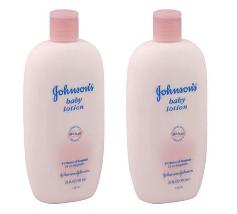 Johnson's Baby Lotion, 20 Fl Ounce Bottle (Pack of 2)