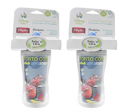 Assortment Disney Baby Playtex Twist 'N Click 9 Oz Insulator Cup (Pack of 2)