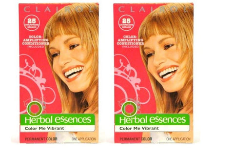 Clairol Herbal Essences Color #025 Champagne Dreams-medium Iridescent Blonde (Pack of 2)