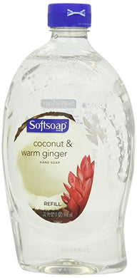 Softsoap Coconut and Ginger - Liquid Hand Soap Refill, 32 Ounce