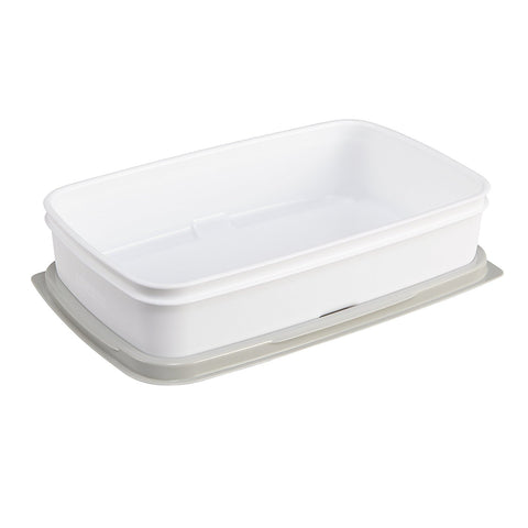 Rubbermaid Fasten + Go Entree Lunch Container, Smoke Grey