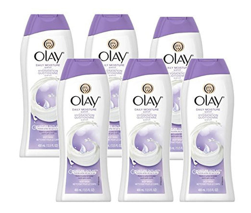 Olay Daily Moisture Quench Moisturizing Body Wash 13.5 Oz (Pack of 6)