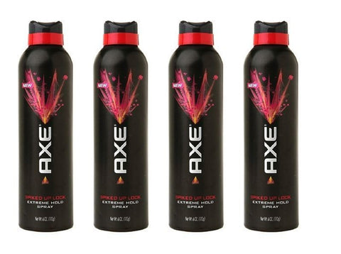 Axe Extreme Hold Spray Spiked up Look, 6 Ounce (Pack of 4)