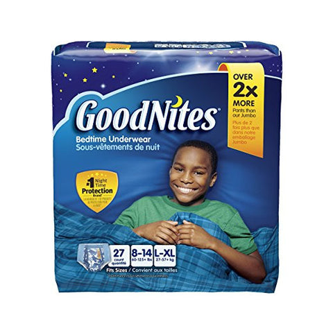 Goodnites Underwear - Boy - Large/X-Large - 27 Count