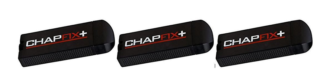 Chapfix Lip Balm for Men, SPF 15, with Beeswax and Aloe, Mint (3 Pack)