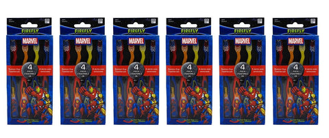 Dr. Fresh Toothbrush 4's Marvel Heroes 6 package (24 total toothbrushes)