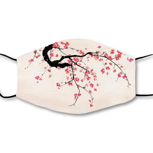 Cherry Blossoms Magic Ink Mask