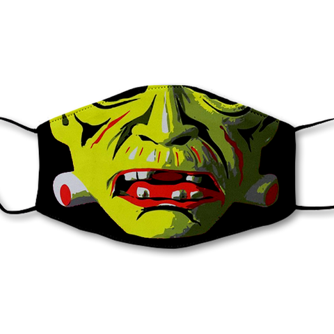 Retro Frankenstein Non-Moving Mask