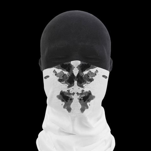 Moving Inkblot Neck Gaiter - V1