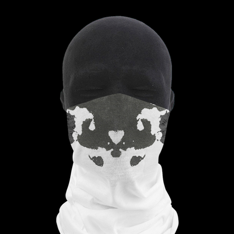 Moving Inkblot Neck Gaiter - V2