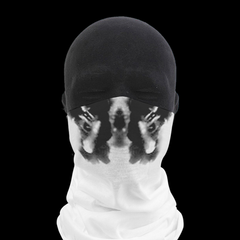 Moving Inkblot Neck Gaiter - V5