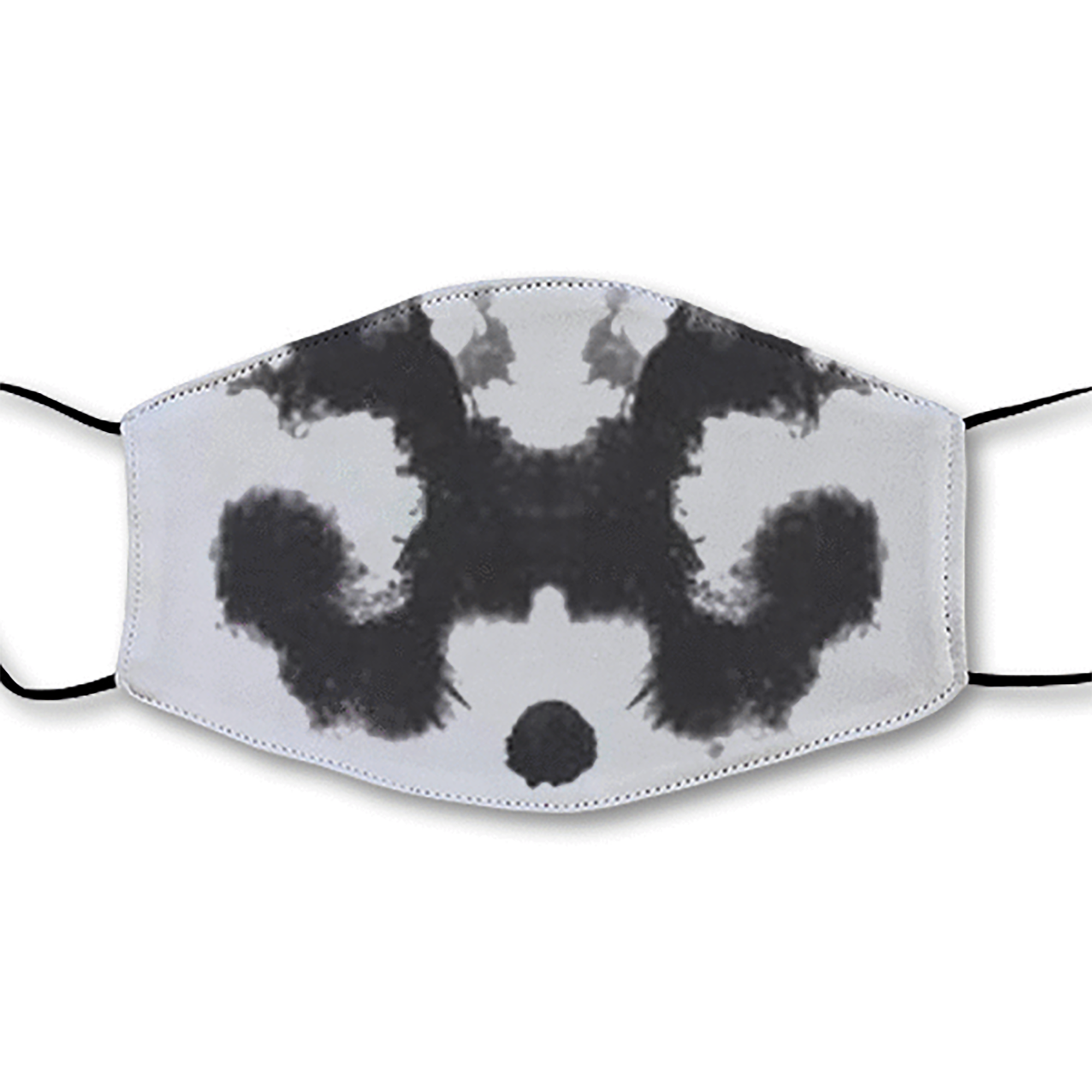 Moving Inkblot Half Mask - V4