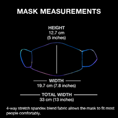 Classic Monsters Non-Moving Mask