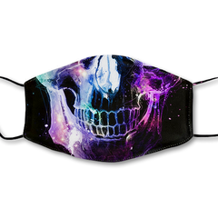 Nebula Skull Magic Ink Mask