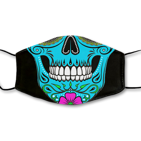 Sugar Skull Non-Moving Mask