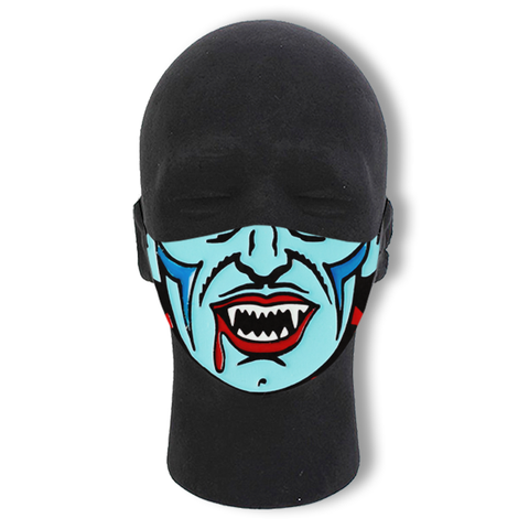 Retro Vampire Non-Moving Mask