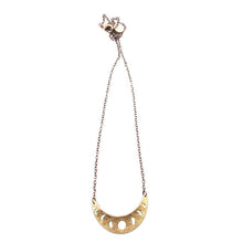 Small Moon Phase Necklace