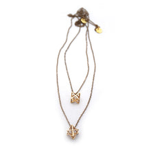 Merkaba Star Tetrahedron Necklace
