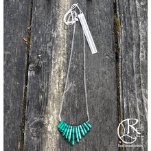 Malachite Point Necklace