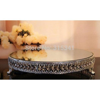 1pcs/lots/12 inch wedding crystal cake stand