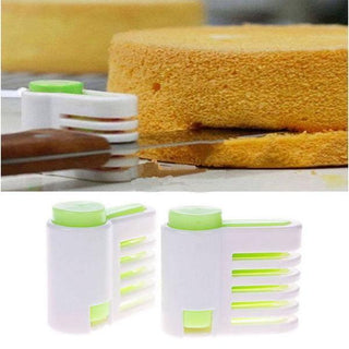 2pcs Pack 5 Layers Adjustable DIY Cake Slicer Bread Leveler