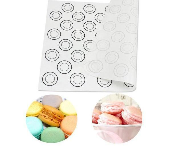 Silicone Dough Mat, Bakeware 44 Circles Baking Sheet