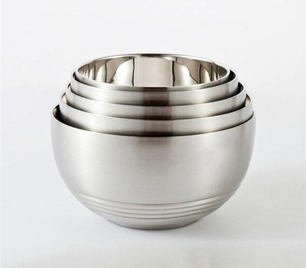 5pcs Stainless Steel Mixing Bowl, Food Storage Bowl