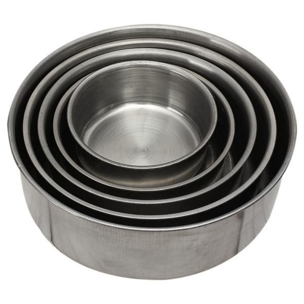 5X stainless steel mixing bowl