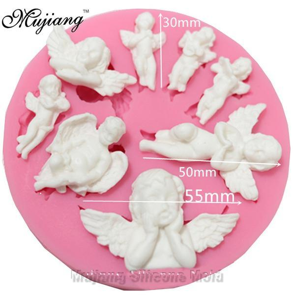 Baby Angels Silicone Gumpaste Mold