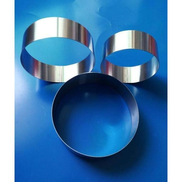 Hot Sale Round Stainless Steel Circle Mousse Ring Baking cake Tool 3Pcs/Set 3 Layer Cake Mould Bakeware Mold A113
