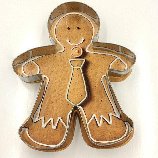 Metal Alloy Gingerbread Cake, Biscuit, Cookie Cutter
