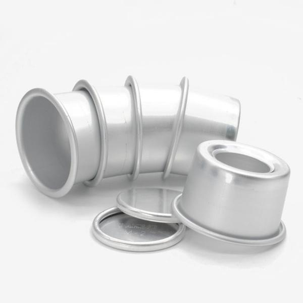 5 Pcs DIY Round Mini Cake Pans
