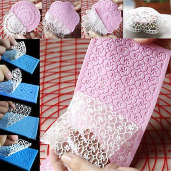 Silicone Lace Decorating Mold