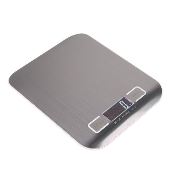 Digital Scale, Cooking Measure Tool, Stainless Steel LED Electronic Bench Scale