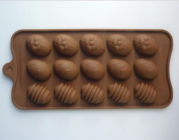 Easter Egg Silicone Chocolate Candy Mold
