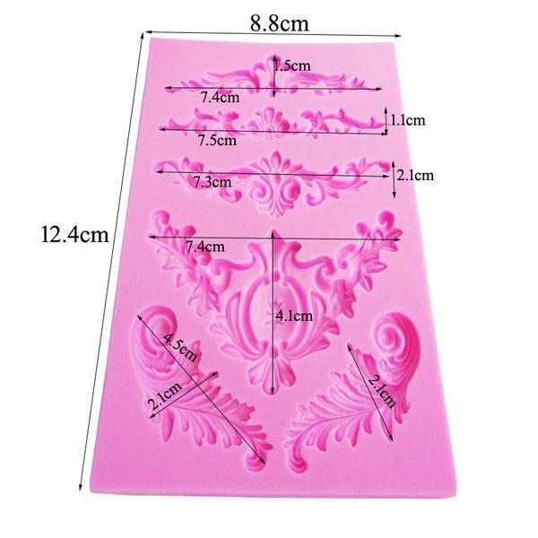 European Lace Cake Mold