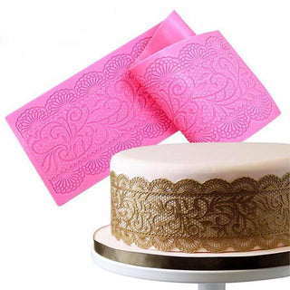 Flower Silicone Lace Impression Mold