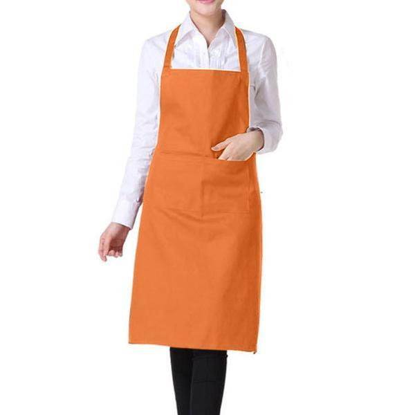 Light Weight Polyester Kitchen Apron for Ladies